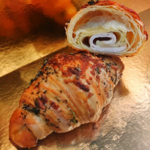croissant dinde fromage